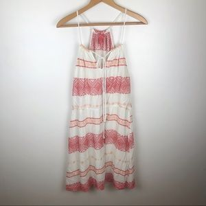 CHELSEA & VIOLET Tank Embroidery Dress Size L